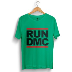 HH - Run Dmc Yeşil T-shirt - Thumbnail