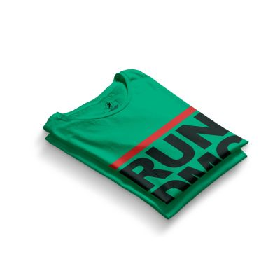 HH - Run Dmc Yeşil T-shirt