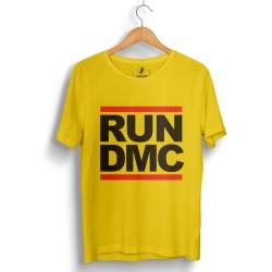 HH - Run Dmc Sarı T-shirt - Thumbnail