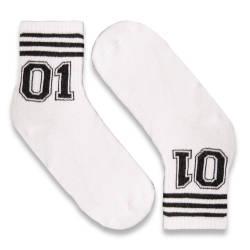 HollyHood - SA - 01 Beyaz Çorap