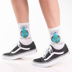 HollyHood - SA - Alien Party Beyaz Çorap