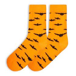 SA - Bats Turuncu Çorap - Thumbnail