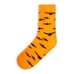 HollyHood - SA - Bats Turuncu Çorap (1)