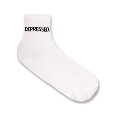 SA - Depressed Beyaz Çorap