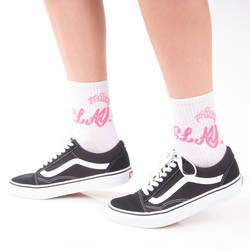 SA - Stay Beyaz Çorap - Thumbnail