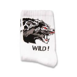 SA - Wild Beyaz Çorap - Thumbnail