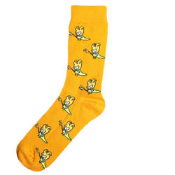 HollyHood - SA - Cadı Figürlü Turuncu Çorap
