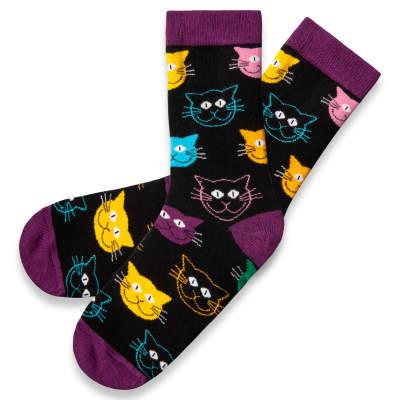 HollyHood - SA - Cats Siyah Çorap
