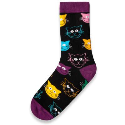 SA - Cats Siyah Çorap