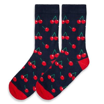 SA - Cherry Lacivert Çorap