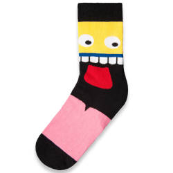 SA - Crazy Face Çorap - Thumbnail