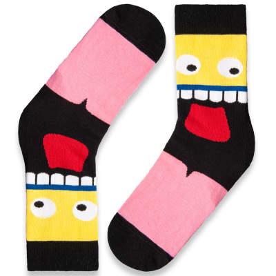 SA - Crazy Face Çorap