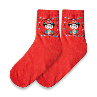 HollyHood - SA - Frida Turuncu Çorap