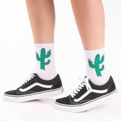 HollyHood - SA - Kaktüs Beyaz Çorap