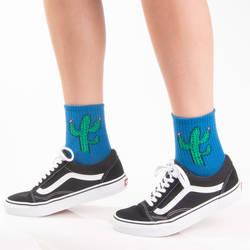 HollyHood - SA - Kaktüs Mavi Çorap