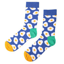 HollyHood - SA - Mavi Beyaz Yumurta Çorap