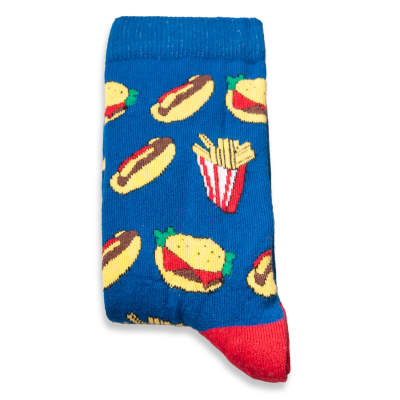 SA - Fast Food Mavi Çorap