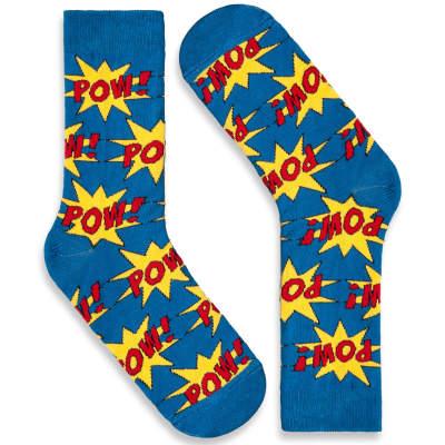 SA - Pow Mavi Çorap