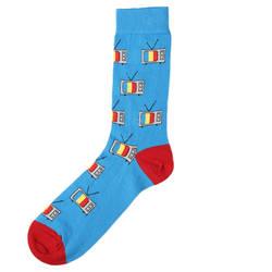 SA - Mavi Tv Çorap - Thumbnail