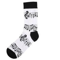 HollyHood - SA - Melodi Desenli Çorap (1)