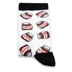 SA - Nutella Beyaz Çorap - Thumbnail