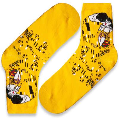 SA - Öpücük Sarı Çorap