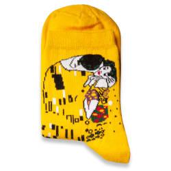 HollyHood - SA - Öpücük Sarı Çorap (1)