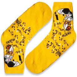 HollyHood - SA - Öpücük Sarı Çorap