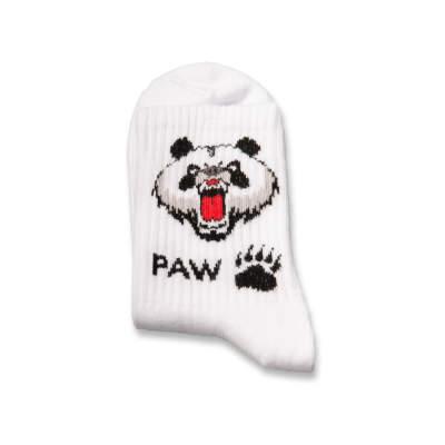 SA - Paw Beyaz Çorap