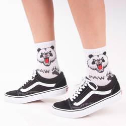 SA - Paw Beyaz Çorap - Thumbnail