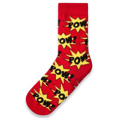 SA - Pow Kırmızı Çorap