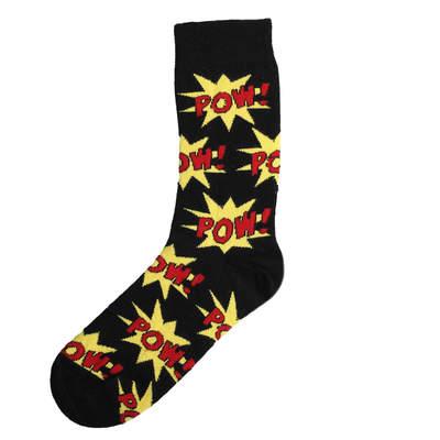 SA -Pow Siyah Kırmızı Çorap