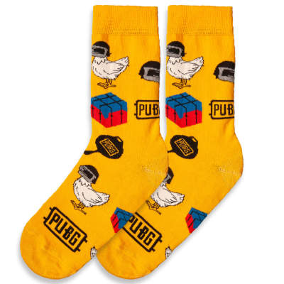SA - Pubg Sarı Çorap