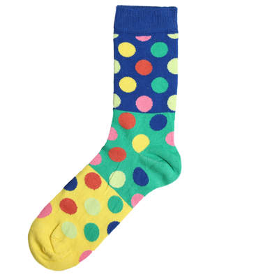 SA -Renkli Puantiye Çorap