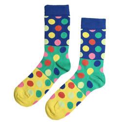 HollyHood - SA -Renkli Puantiye Çorap (1)