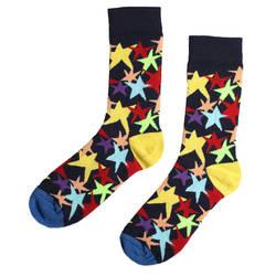 HollyHood - SA -Renkli Yıldız Desenli Çorap (1)