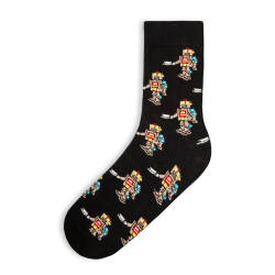 SA - Robot Siyah Çorap - Thumbnail