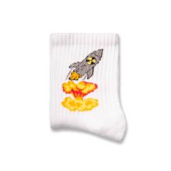 SA - Roket Beyaz Çorap - Thumbnail