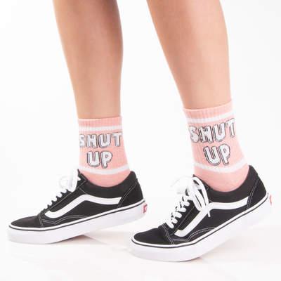 SA - Shut Up Pembe Çorap