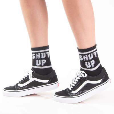 SA - Shut Up Siyah Çorap