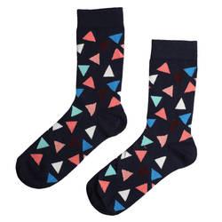 HollyHood - SA -Üçgen Desenli Çorap (1)