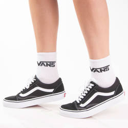 HollyHood - SA - Vans Logo Beyaz Çorap