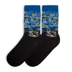 HollyHood - SA - Yıldızlı Gece Siyah Çorap