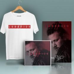 Şanışer - HollyHood - Şanışer Ludovico Beyaz T-shirt + Albüm (ÖZEL PAKET)
