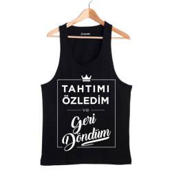 Şanışer - HH - Şanışer Tahtımı Özledim Siyah Atlet