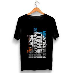 Şanışer - HollyHood - Şanışer Yalan Siyah T-shirt