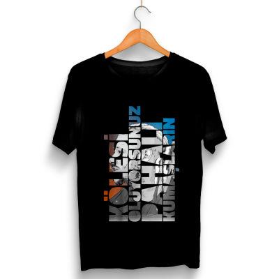 HH - Şanışer Yalan Siyah T-shirt