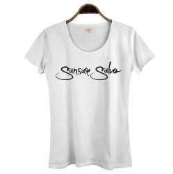 Sansar Salvo - HollyHood - Sansar Salvo 2 Beyaz Kadın T-shirt