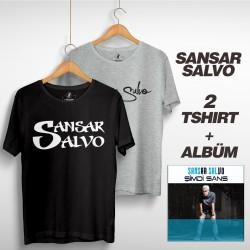 Sansar Salvo - Sansar Salvo Box 2 (Tipografi) Gri + Siyah