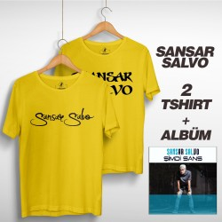 Sansar Salvo - Sansar Salvo Box 2 (Tipografi) Sarı + Sarı